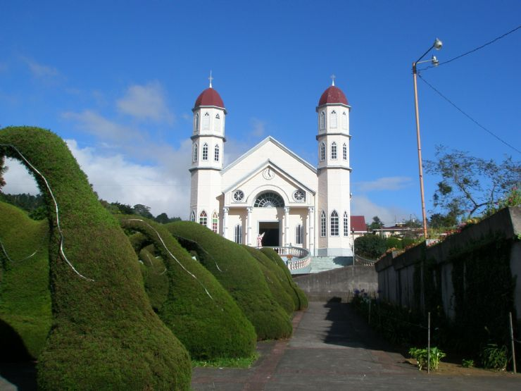San Rafael Church in Zarcero