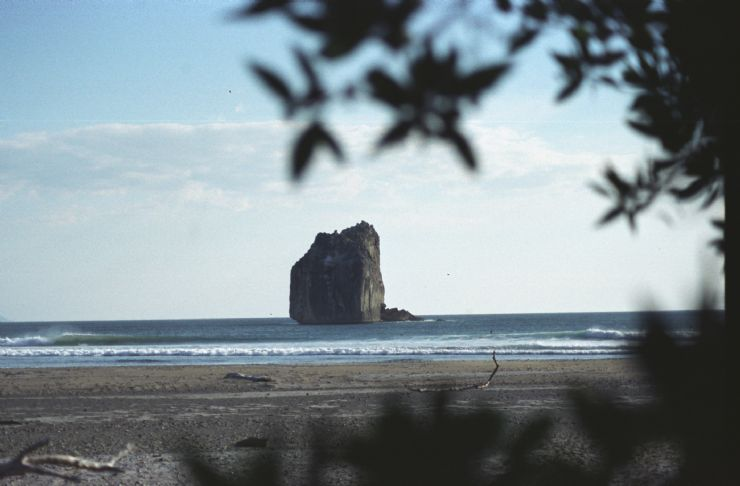 View of Witches Rock Surf Spot
