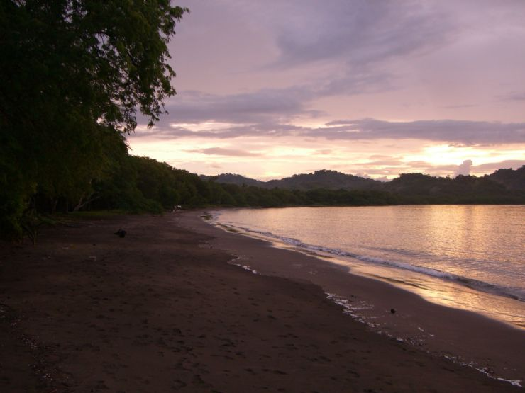 Costa Rica Beach Sunset