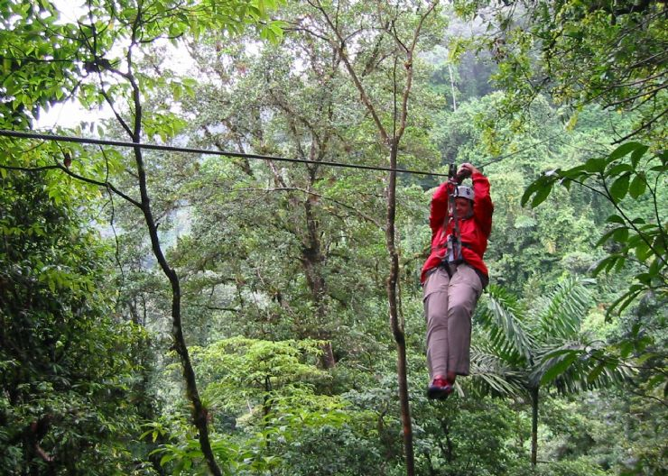 Canopy Tour in Rincon