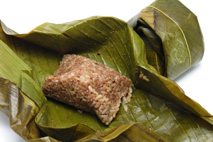 Traditional tamal in Liberia