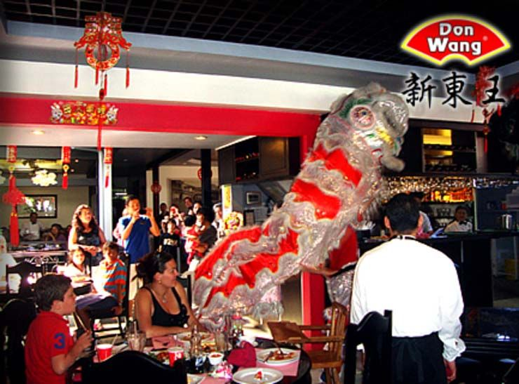 Chinese New Year at Don Wang Restaurant