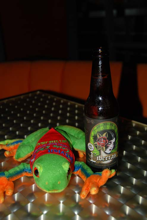 Javi the Frog & Libertas Micro-Beer