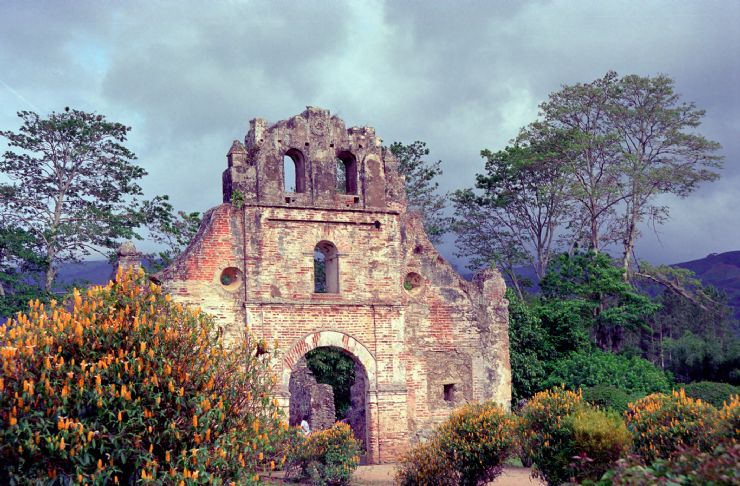 Ruins of the 1693 Iglesia de Nuestra Senora