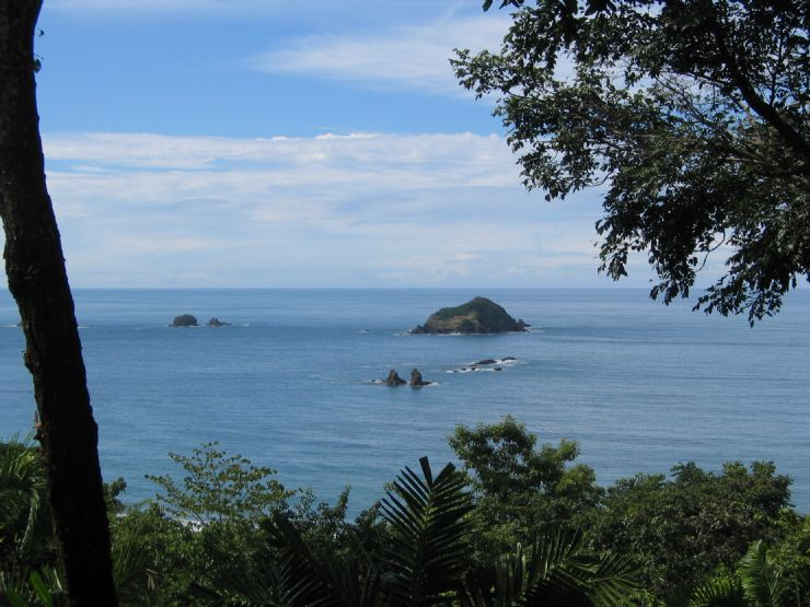 View of Islands near Manuel Antonio