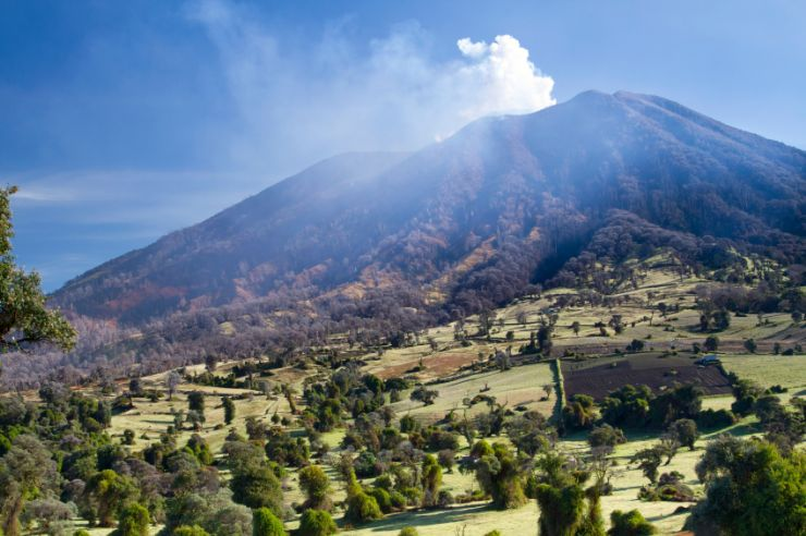 The Legend of the Turrialba Volcano