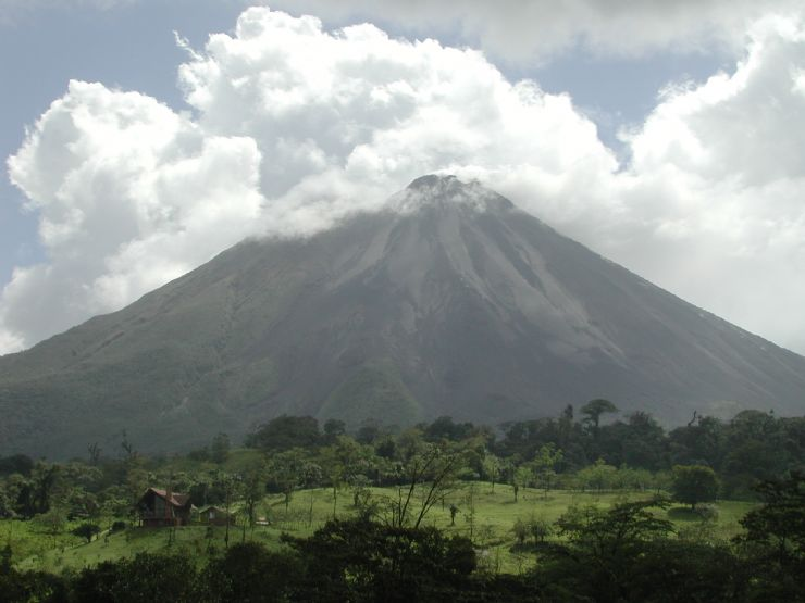 Beautiful Arenal Volcano