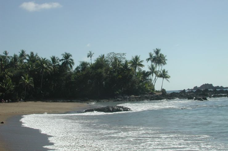 Reef in front of San Pedrillo Ranger Station Corcovado