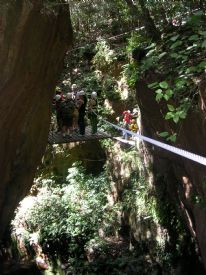 Adventure Tours canopy & canyon tour - Rinc�n de la Vieja National Park, Guanacaste