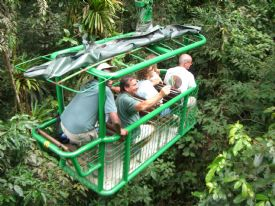 Aerial Tram Caribbean Rainforest - Braulio Carrillo National Park, Heredia
