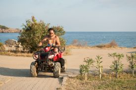 ATV tours offered at the beach - Manuel Antonio, North Puntarenas