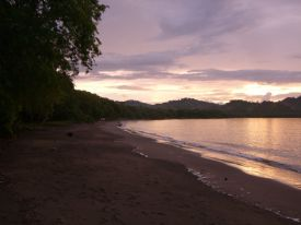 Costa Rica Beach Sunset - Playa Panama, Guanacaste