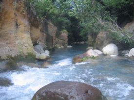 Beautiful river to tube in! - Rinc�n de la Vieja National Park, Guanacaste