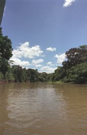 Looking down Ca�o Negro River - Ca�o Negro National Wildlife Refuge, Alajuela