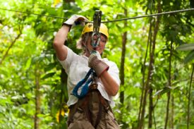 Women on a Canopy Tour in Turrialba - Turrialba, Cartago