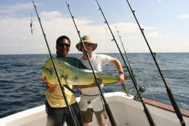 Catching a Dorado in Costa Rica - Drake Bay, South Puntarenas