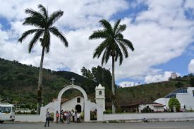 Beautiful Orosi Church from the street - Orosi, Cartago