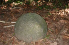 Pre Columbian Rock Sphere, Isla Del Cao