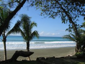Isolated Beach in Corcovado Corcovado National Park