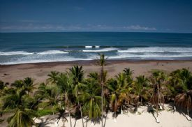 Jaco Beach with waves - Jaco, North Puntarenas