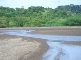 Estuary at Playa Panama - Playa Panama, Guanacaste
