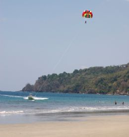 Parasailing off of Manuel Antonio - Manuel Antonio, North Puntarenas