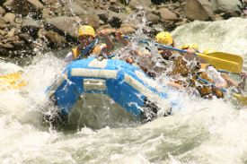 Going through rapids II on the Pacuare - Turrialba, Cartago
