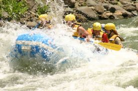 Going through rapids III on the Pacuare  - Turrialba, Cartago