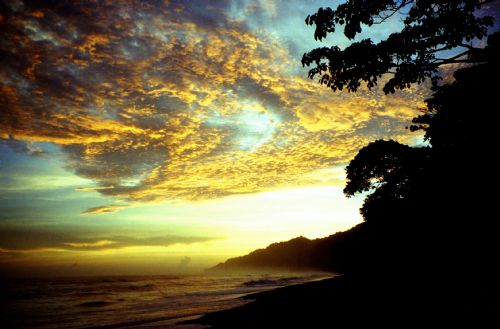 Sunset at Corcovado National Park