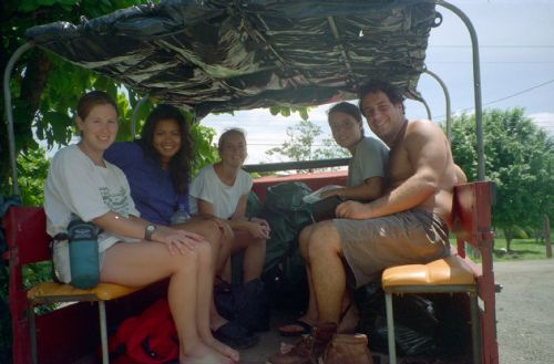 Taxi ride to Corcovado National Park