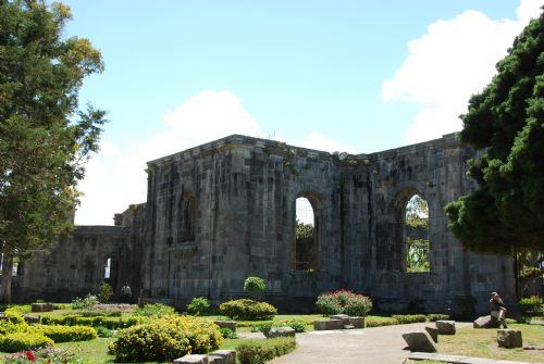 Beautiful Cartago Ruins with gardens