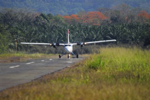 Flying into Golfito Airport