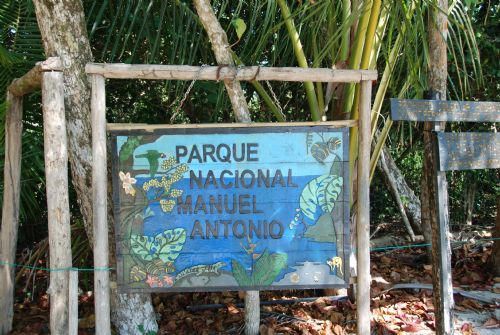 Manuel Antonio National Park Sign