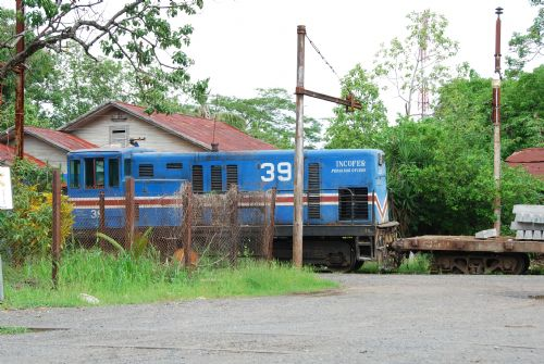 One of the last original Locomotives in Costa Rica