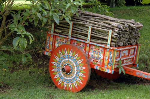 Ox Cart or Carreta in Siquirres