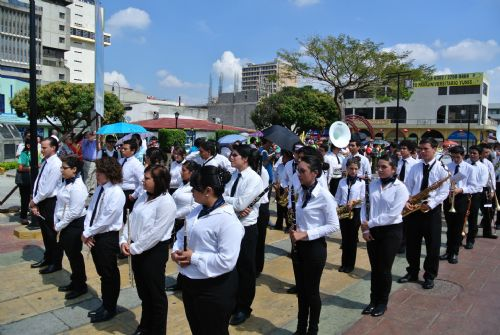 San José band in procession