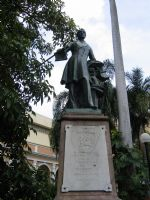 Statue of Costa Rica's First Head of State Juan Mora Fernandez