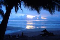 Blue Beach Sunset in Tamarindo