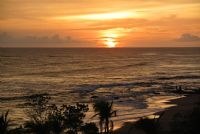 Spectacular sunset at Mansita Beach, Hacienda Pinilla