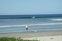 Surf's up in Tamarindo