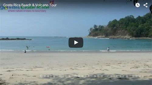 Costa Rica Beach & Volcano Tour