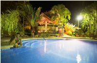 Pool at Night at Tilajari Resort Hotel