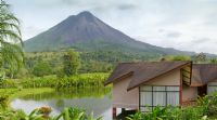 Amazing Arenal Volcano view from Monta�a de Fuego, Arenal
