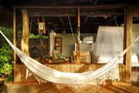 Lapa Rios Room with hammock