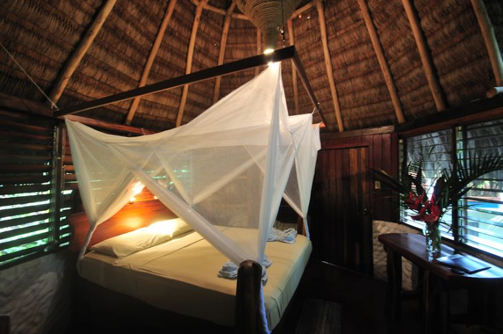 Bedroom at Encanta La Vida Rainforest Lodge
