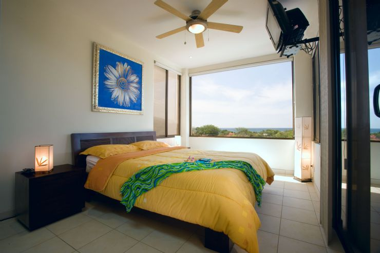 Master bedroom at Tropical Gardens