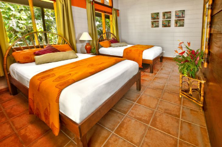 Beautiful Standard Room at Pachira Lodge