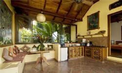 Villa Toucan Equipped Kitchen and Dining Area