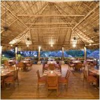 High roof Restaurant at Hilton Papagayo