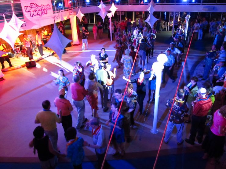 Line Dancing on a Princess Cruise